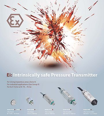 Intrinsically Safe Pressure Transmitter