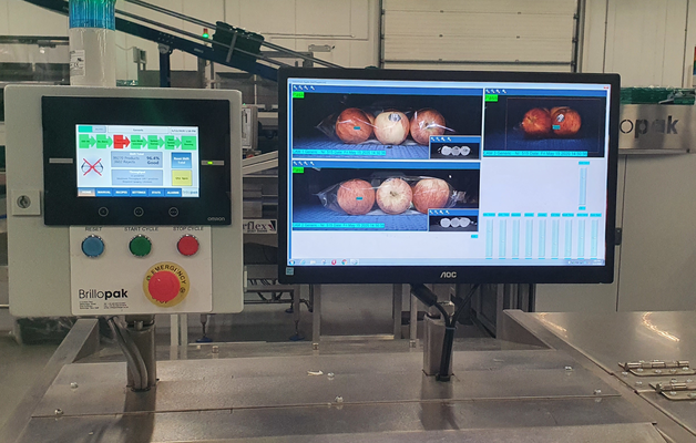 To help minimise the risk of an 'out-of-spec' product heading onto retailer's shelves, Brillopak has begun to integrate hyperspectral imaging as an option onto its automated case loading systems