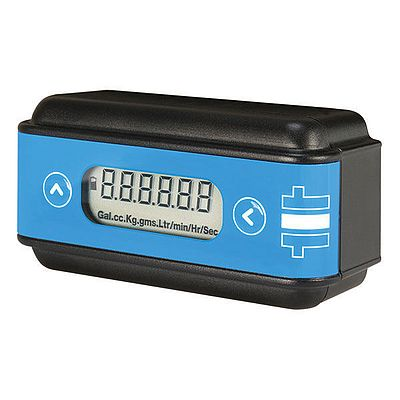 Battery Powered Digital Rate and Total Flow Indicator