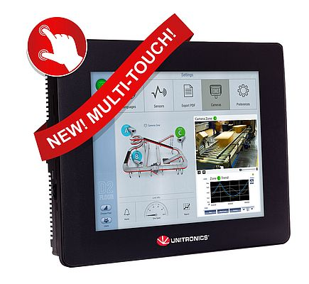 Multi-Purpose All-in-One PLC + HMI