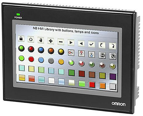 Display clarity and support for vector and bitmap images makes Omron's HMI ideal for interfacing with complex installations