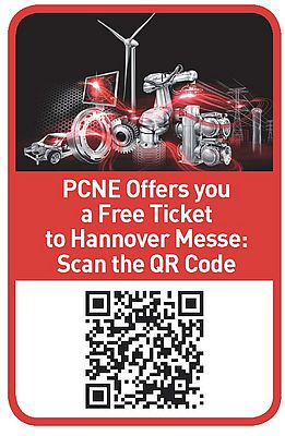 PCNE offers you a free ticket to Hannover Messe: