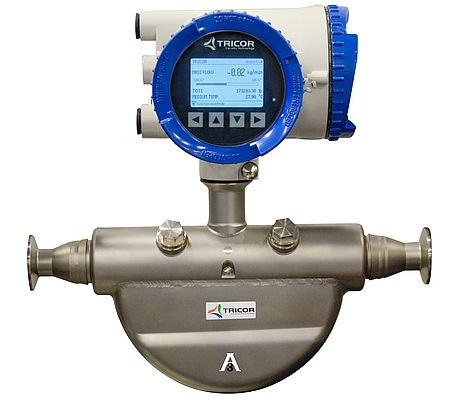 Coriolis Mass Flowmeter with Sanitary Design