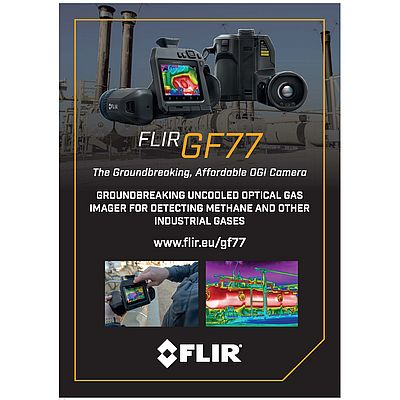 FLIR GF 77. The Groundbreaking, Affordable OGI Camera