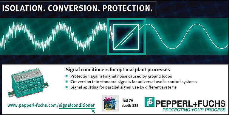 Signal conditioners for optimal plant processes