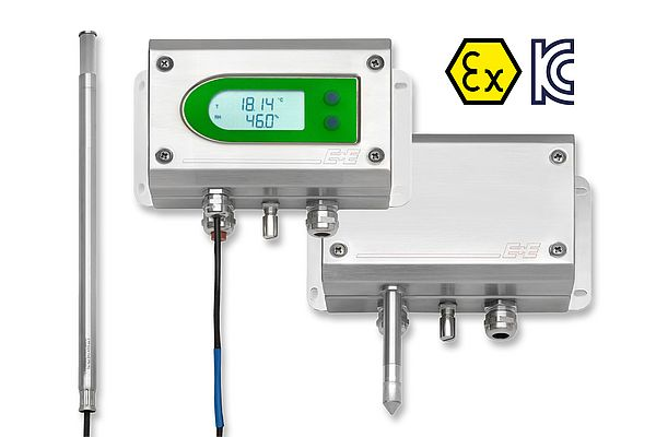 Humidity and Temperature Transmitter EE300Ex