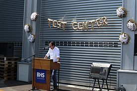 Opening of new Test Center