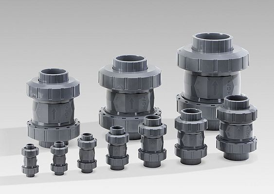 Redesigned check valves