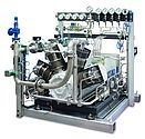 Oil-free and Gas-tight High-pressure Compressor