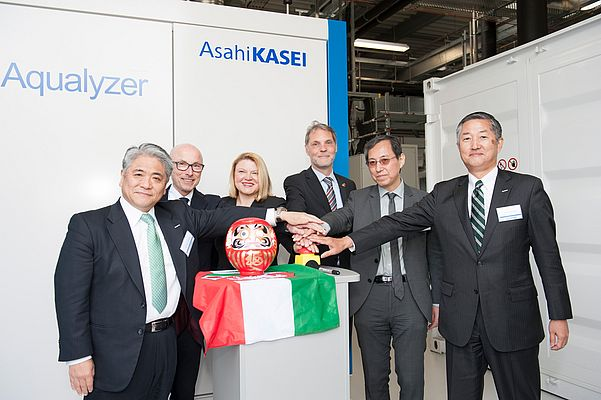 Asahi Kasei Europe Started a Project for the Production of Green Hydrogen