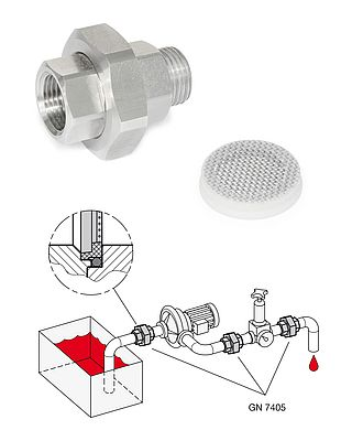 Strainer Fittings GN 7405