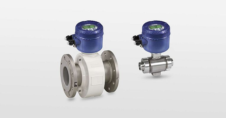 Magnetic-Inductive Flow Measurement for Standard and Hygienic Applications