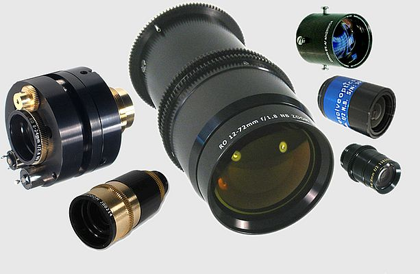 A range of specialist lenses for different kinds of applications from Resolve Optics