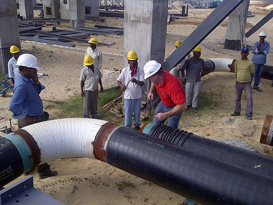 Demagnetizing Oil Pipelines in Situ