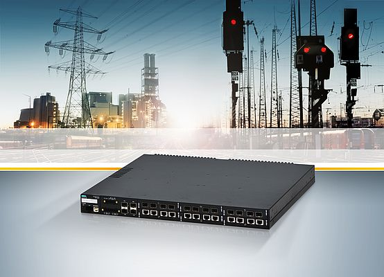 Power-over-Ethernet Supporting Switch