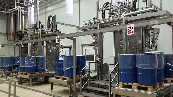 Aseptic filling can be used with a range of packaging from small pouches to barrels and bulk containers