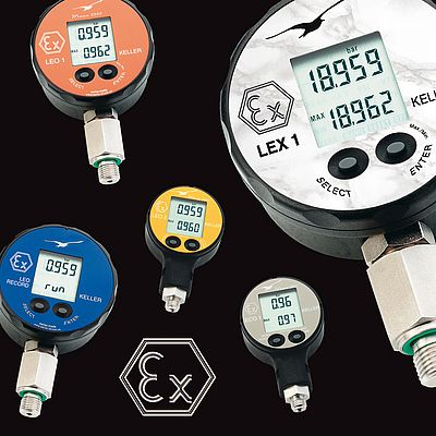 Intrinsically Safe Electronic Pressure Gauges