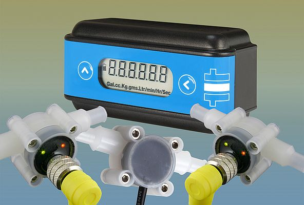 Flexible Flowmeter/Display Unit Combination