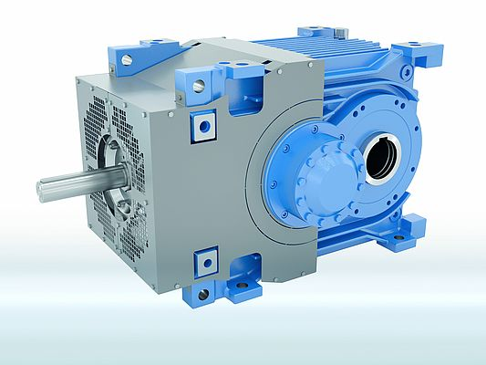 Industrial Gear Unit for Conveyor Belt Systems