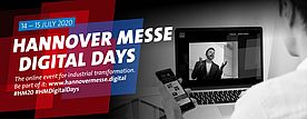 HANNOVER MESSE Digital Days on July 14 & 15