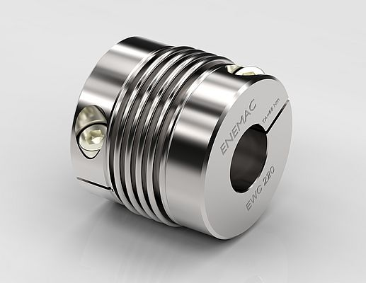 Metal-Bellow Coupling Line EWC