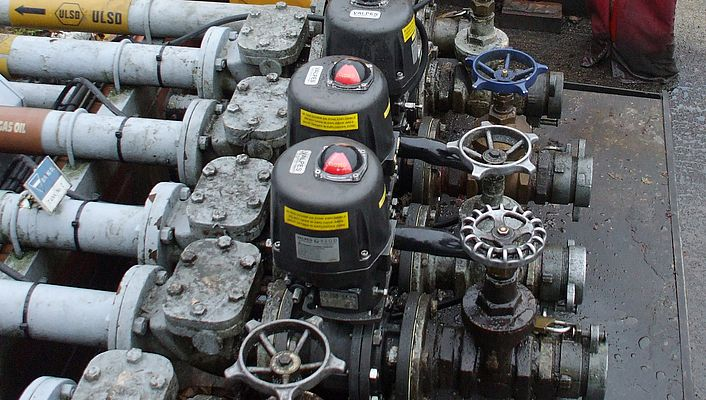 ATEX-rated valves