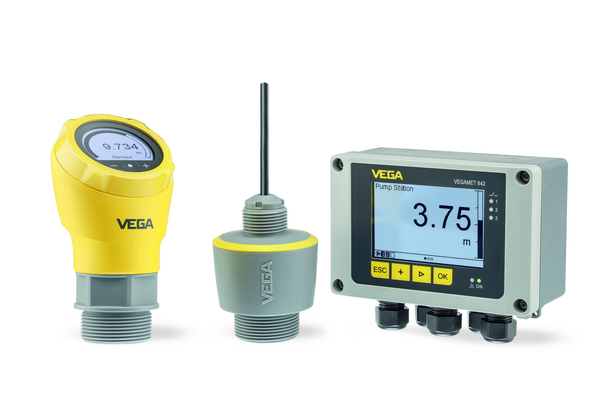 The VEGAPULS instrument series is available both as compact version with cable connection housing and as standard version with fixed cable connection (IP68). The new series is complemented by the VEGAMET controller, which can also visualize measurements.