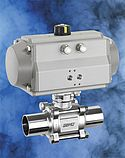 New stainless steel ball valves for use in hygienically demanding applications