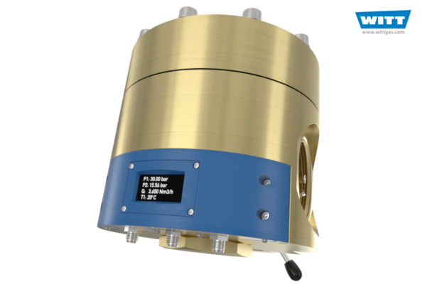 Dome Pressure Regulator with Integrated Digital Sensor Technology