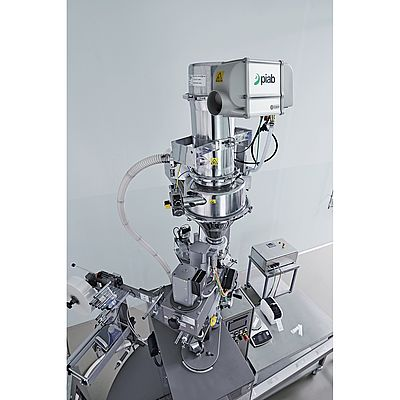 The Pi-Flow P vacuum conveyor from Piab feeds Kora's contract filling line