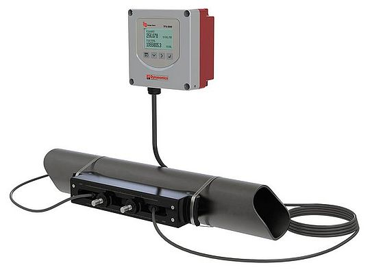 Ultrasonic Flow and Energy Meter
