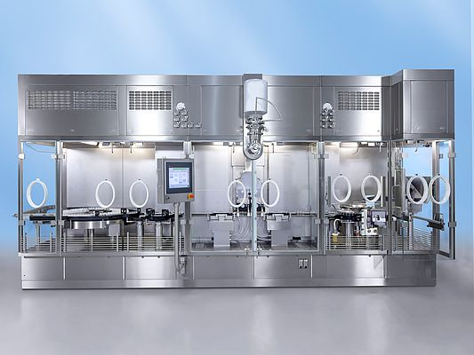 The filling and closing machine from Bosch was awarded in the category product design