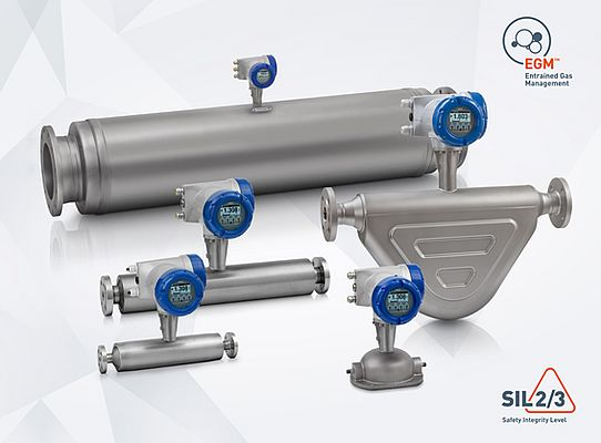Coriolis Flowmeters Available With Bluetooth