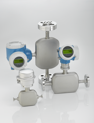 Proline Promass A - Coriolis singletube flowmeter with highest accuracy for lowest flow rates.