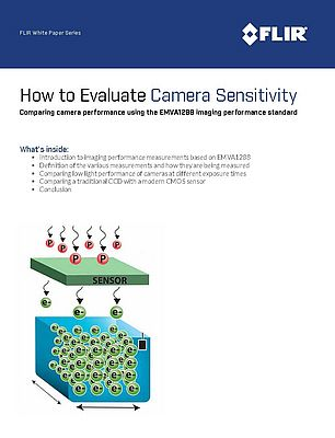 How to Evaluate Camera Sensitivity