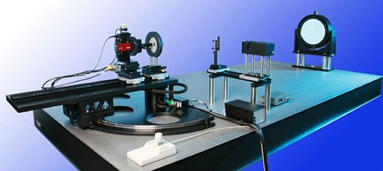 Test rig for optical alignment