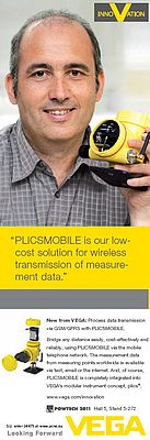 PLICSMOBILE, wireless transmission measurement data
