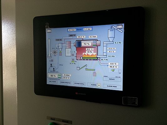 UniStream PLC with 10.4-inch Touchscreen HMI