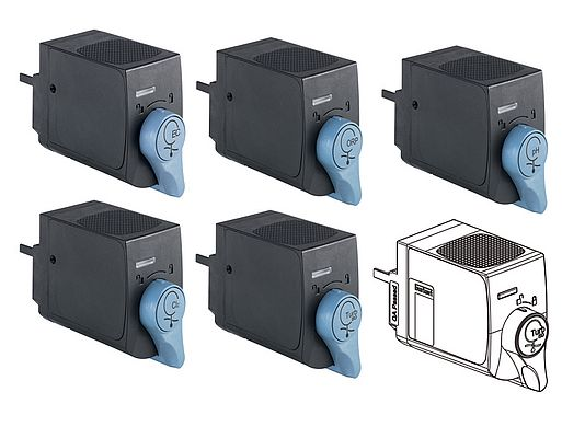 Ensuring a minimal footprint, the innovative sensor design means that sensor cubes can be installed or removed without affecting any others in the system.