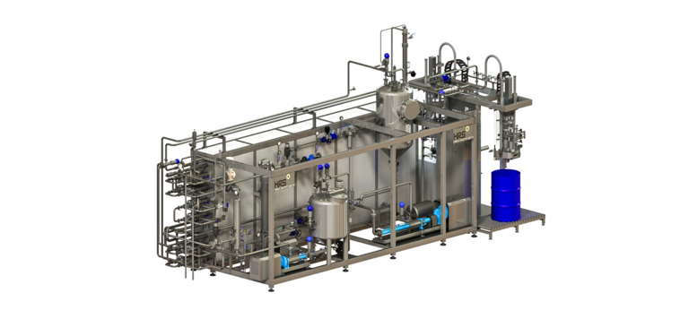 Most aseptic filling solutions combine pasteurisation/sterilisation and filling in an integrated solution