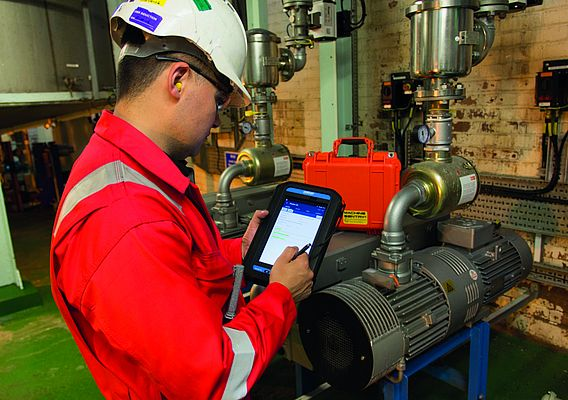 Fit for the Industrial Internet of Things: Mobile Solutions for Hazardous Areas