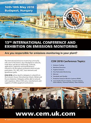 13th International Conference and Exhibition on Emissions Monitoring