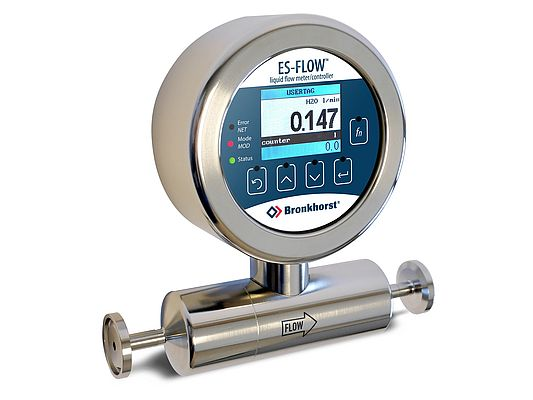 ES-FLOW Ultrasonic Flow Meter for low flow rates