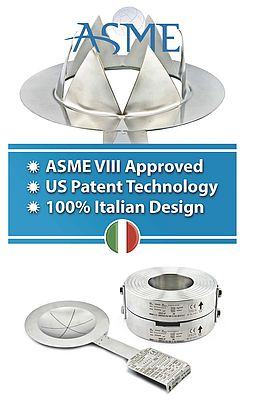 DonadonSSD: The Italian Manufacturer of Rupture Discs Ensures Maximum Safety Against Overpressure
