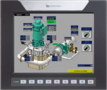 All-in-One PLC+HMI Vision1040 for Hydroelectric Turbines
