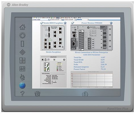 Interface opérateur AB PanelView Plus 7 Standard chez Rockwell Automation