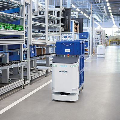 Bosch Rexroth présente l'AGV intelligent ActiveShuttle
