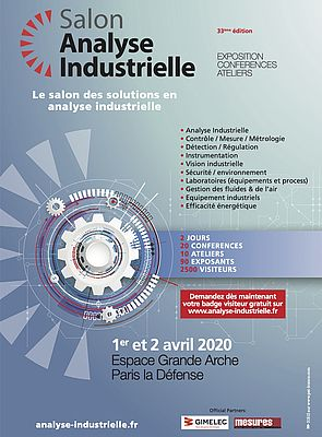 Salon Analyse Industrielle - 33e édition
