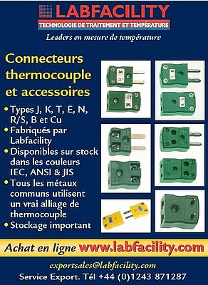 Connecteurs thermocouple