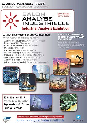 Salon Analyse Industrielle - Paris
